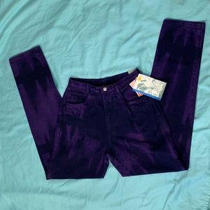 Vintage High Waist Purple Roper Jeans 13/14 36L